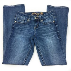 Seven 7 Boot Cut Denim Jean, size 4